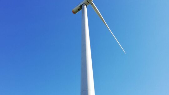 Ausflug zum Windpark bei Güstritz von Gr. 3